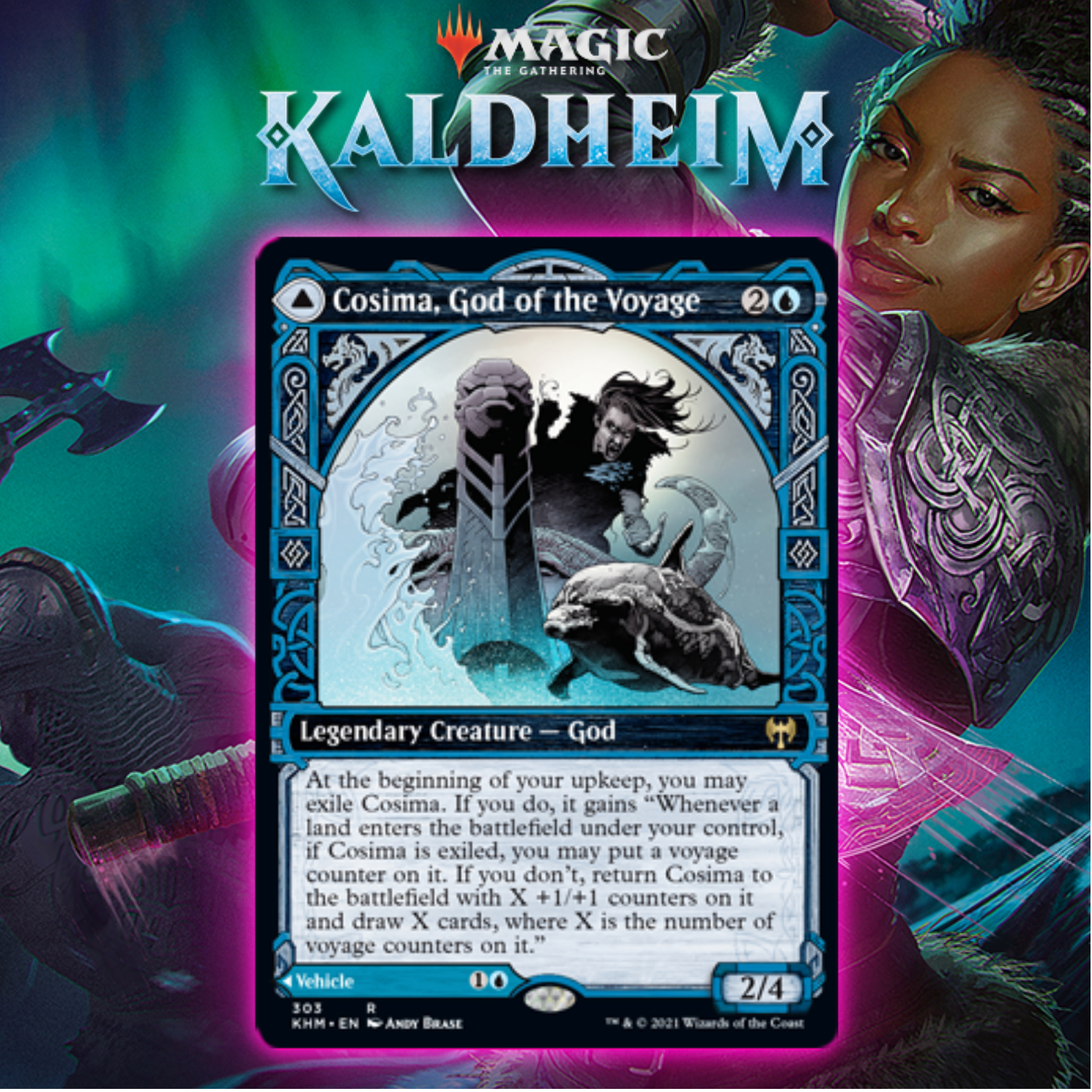 Why Cosima, God Of The Voyage Is The Card I'm Most Excited About From Kaldheim