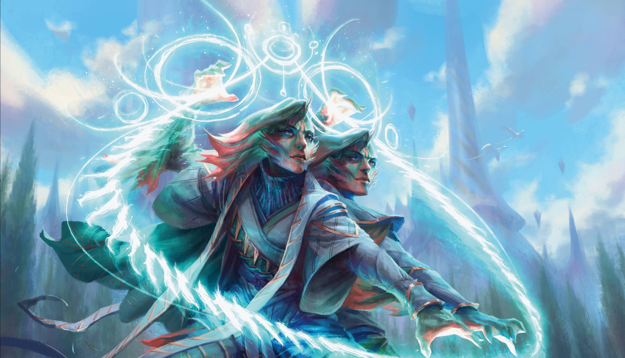 Commander Deep Dive: Adrix And Nev, Twincasters