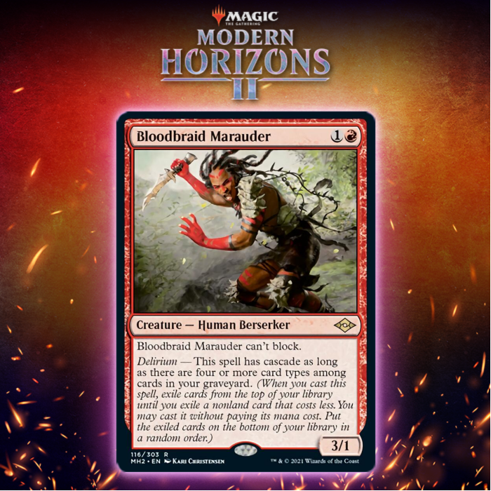 Bloodbraid Marauder Is The Best Card In Modern Horizons 2