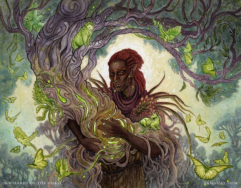 Gaea's Cradle On A Creature!? Checking Out Circle Of Dreams Druid