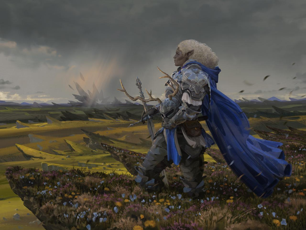 Adventures In The Forgotten Realms Aura Of Courage Commander Deck Revealed