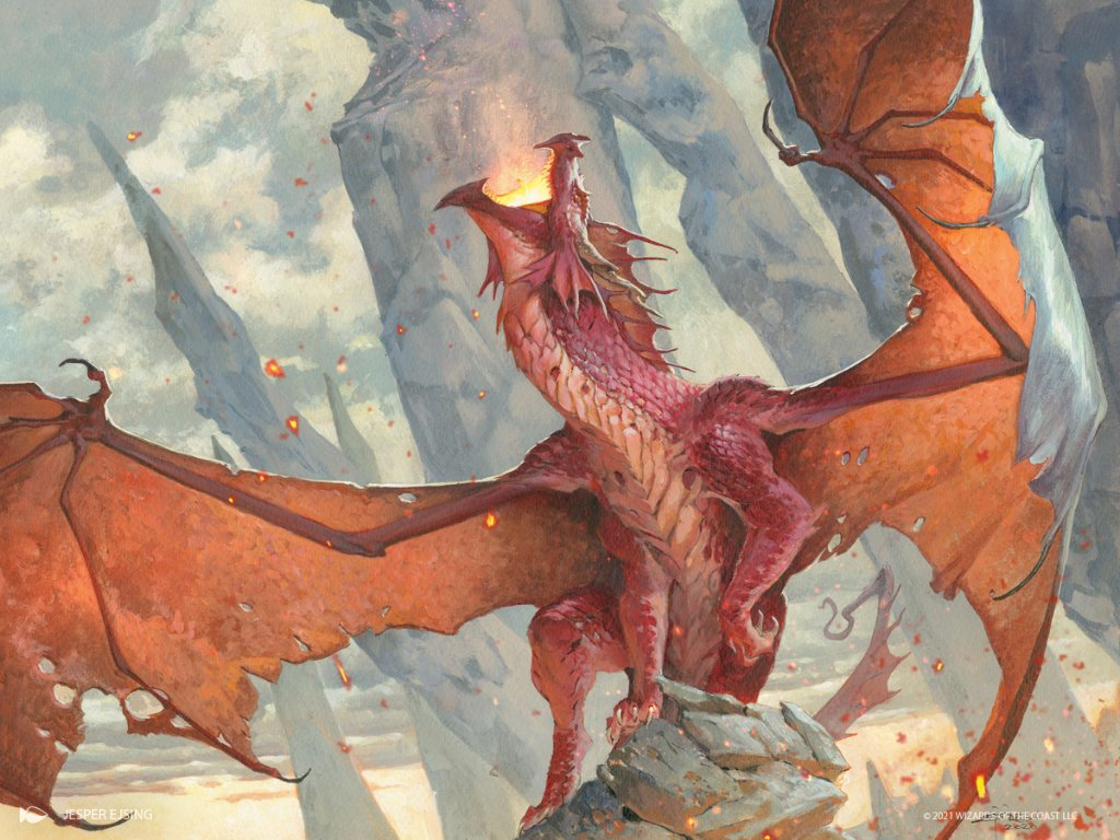 Savoring Flavor: Examining The Chromatic Dragons Of Adventures In The Forgotten Realms