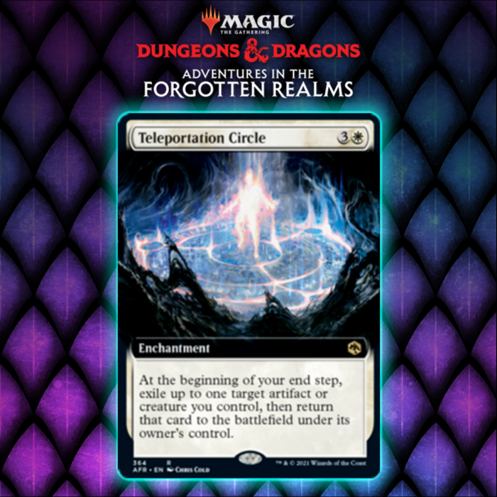 White Gets Conjurer's Closet Variant In Teleportation Circle In Adventures In The Forgotten Realms