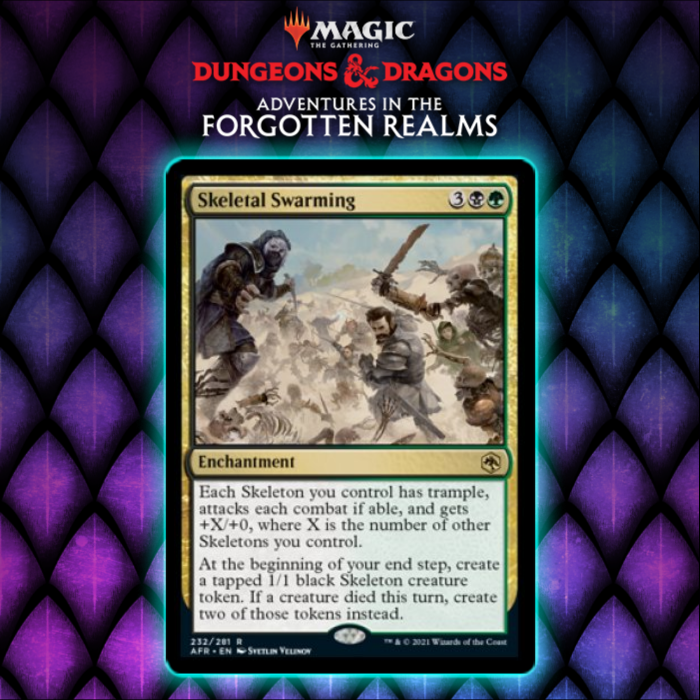 Adventures In The Forgotten Realms Gives Golgari New Enchantment Win Condition In Skeletal Swarming