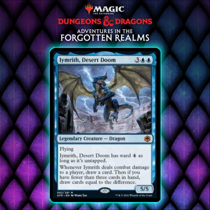 Iymrith, Desert Doom Gives Blue New Legendary Dragon From Adventures In The Forgotten Realms