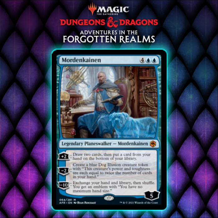Mordenkainen Shows Up As Blue Planeswalker In Adventures In The Forgotten Realms