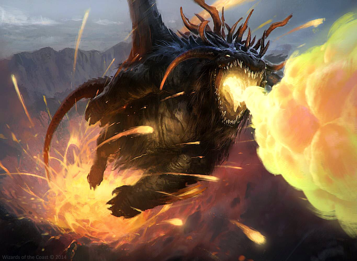 Adventures In The Forgotten Realms Draconic Rage Commander Deck Revealed