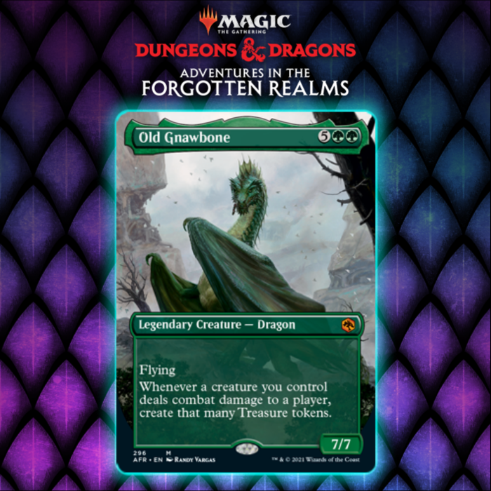 Green Gets Mythic Rare Dragon In Old Gnawbone In Adventures In The Forgotten Realms