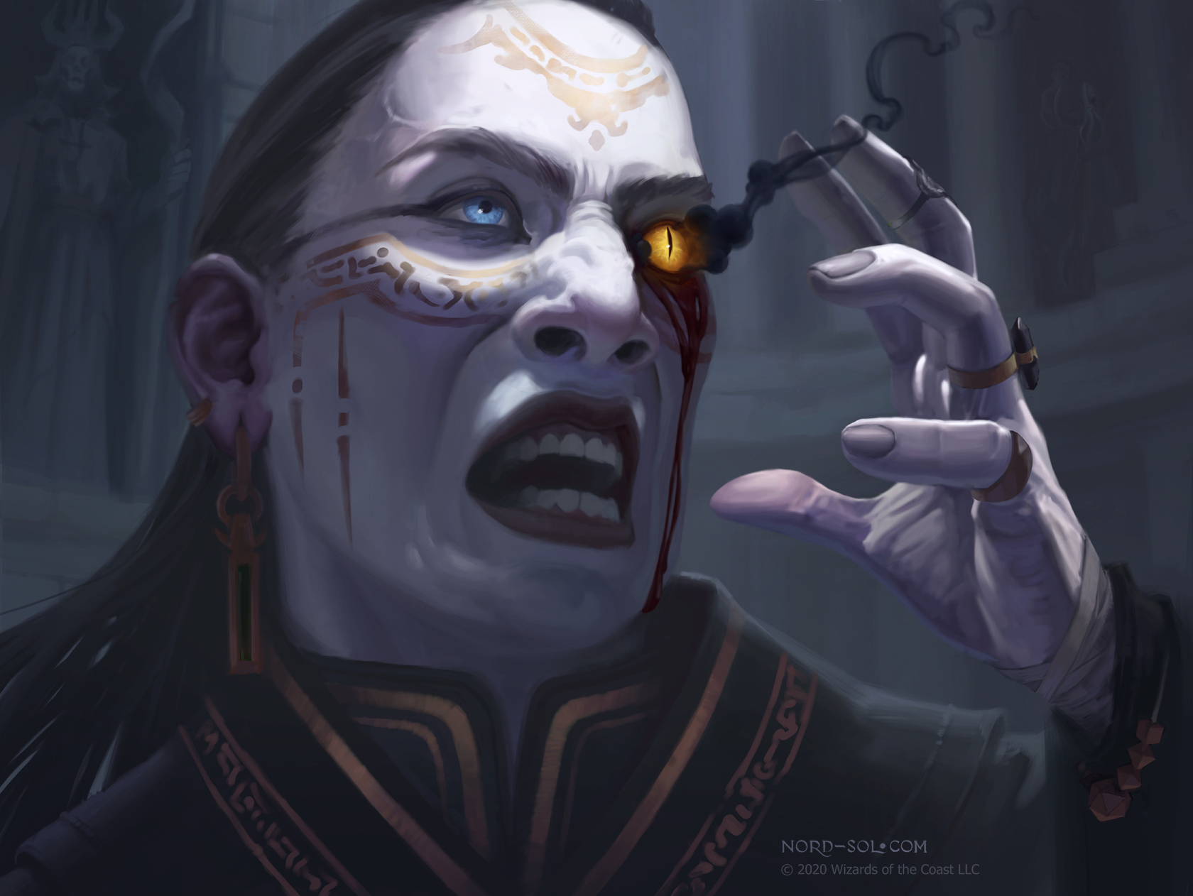 Good Morning Magic Shows Off Vecna Token From Adventures In The Forgotten Realms
