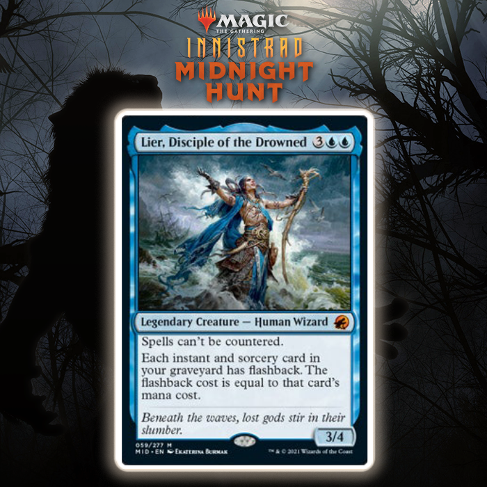 Blue Gets New Spell-Based Legend In Lier, Disciple Of The Drowned In Innistrad: Midnight Hunt