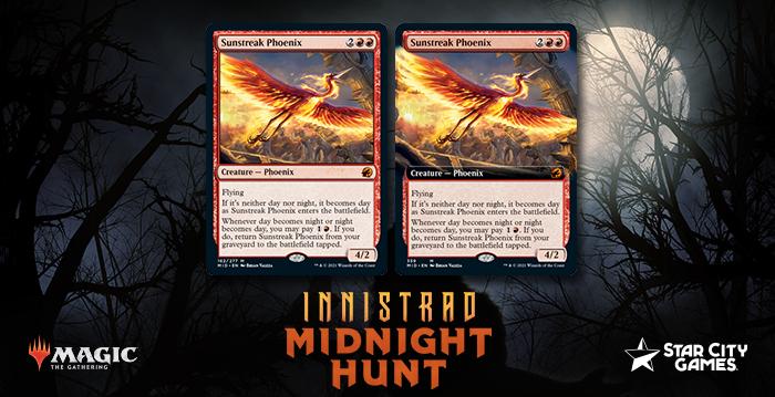 Innistrad: Midnight Hunt Gives Red New Mythic Rare Phoenix In Sunstreak Phoenix