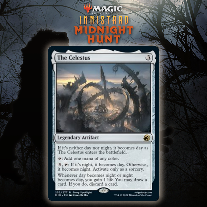 Prepare To Control The Flow Of Time With The Celestus In Innistrad: Midnight Hunt