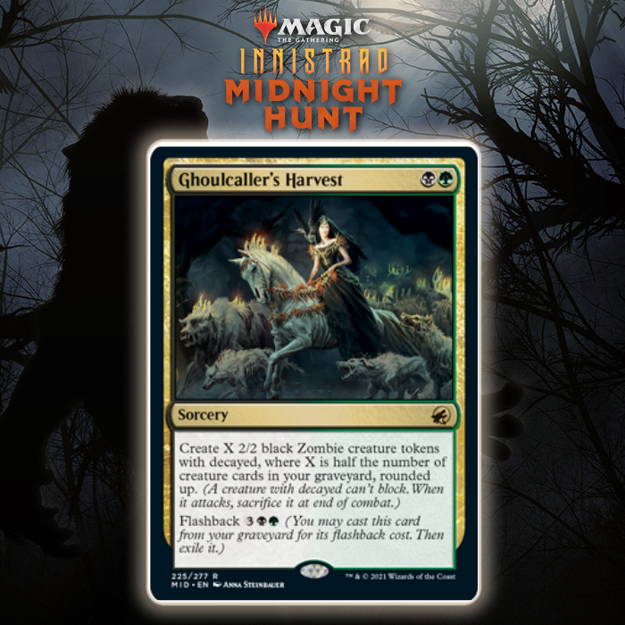 Let's Get To Breaking Ghoulcaller's Harvest In Innistrad: Midnight Hunt Standard