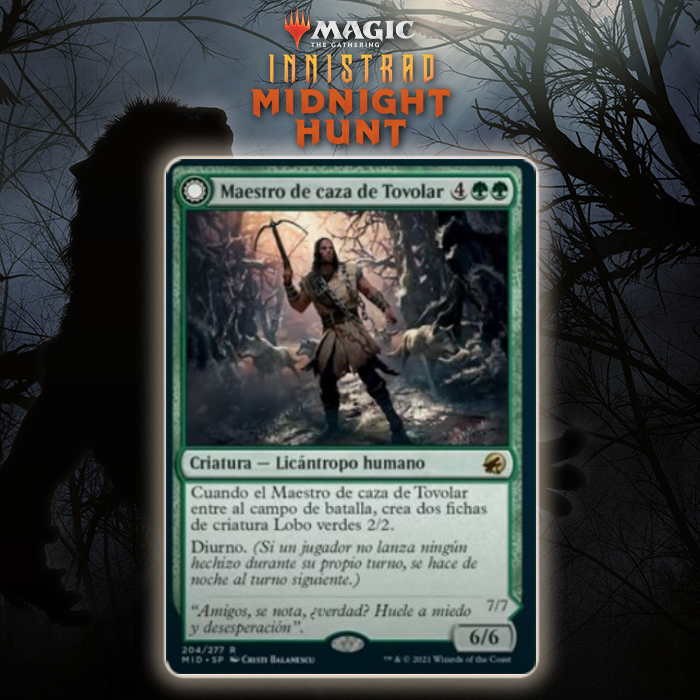 Green Gets New Take On Grave Titan In Tovolar's Huntmaster In Innistrad: Midnight Hunt