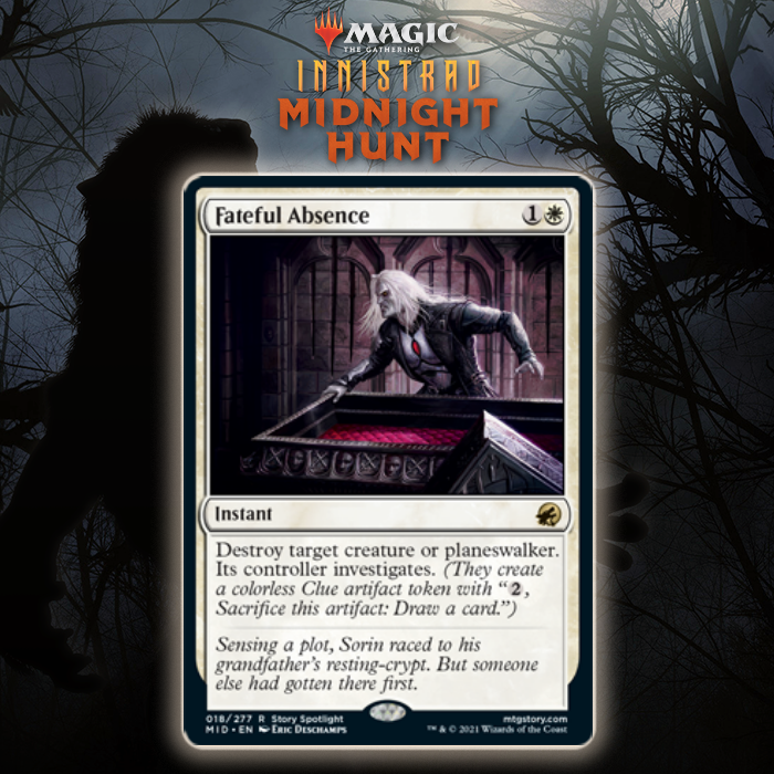 White Gets Premium Spot Removal In Fateful Absence In Innistrad: Midnight Hunt
