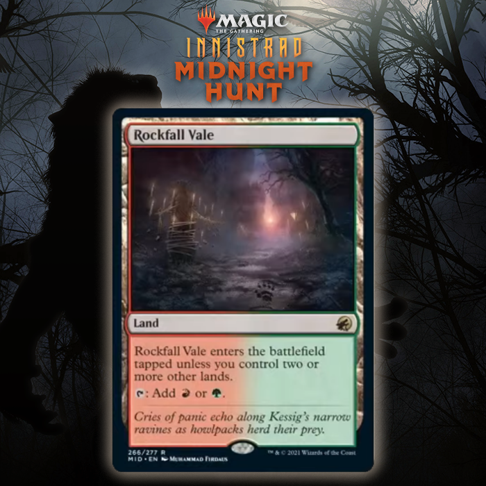Innistrad: Midnight Hunt Rare Dual Land Cycle Unveiled