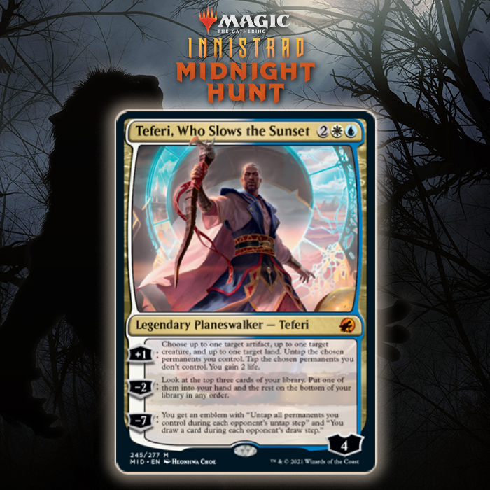Azorius Gets New Planeswalker In Teferi, Who Slows the Sunset In Innistrad: Midnight Hunt