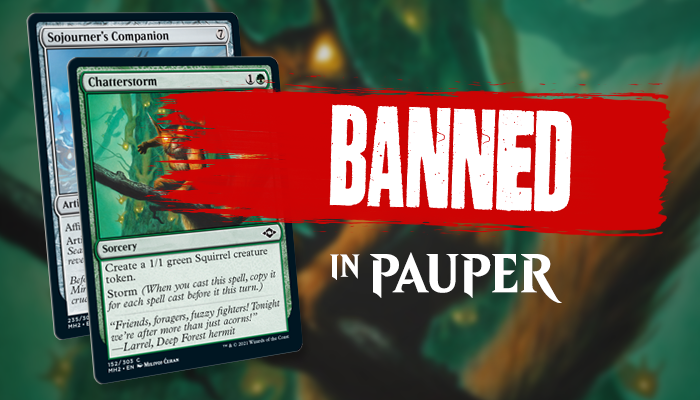 Chatterstorm And Sojourner's Companion Banned In Pauper