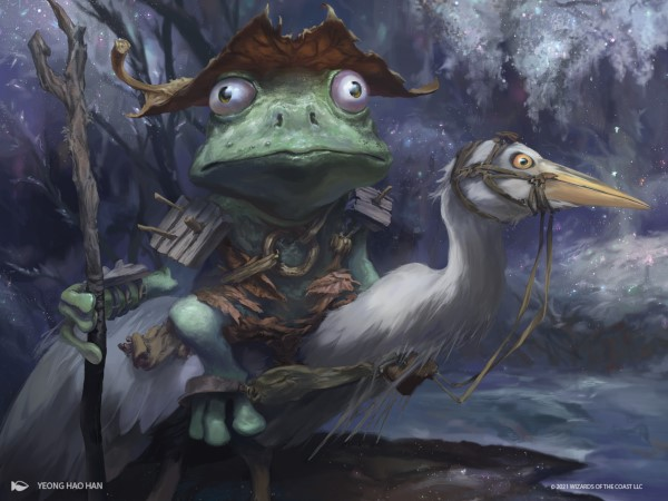 Blinks And Frogs: Exploring Hallowed Respite And Croaking Counterpart In Standard
