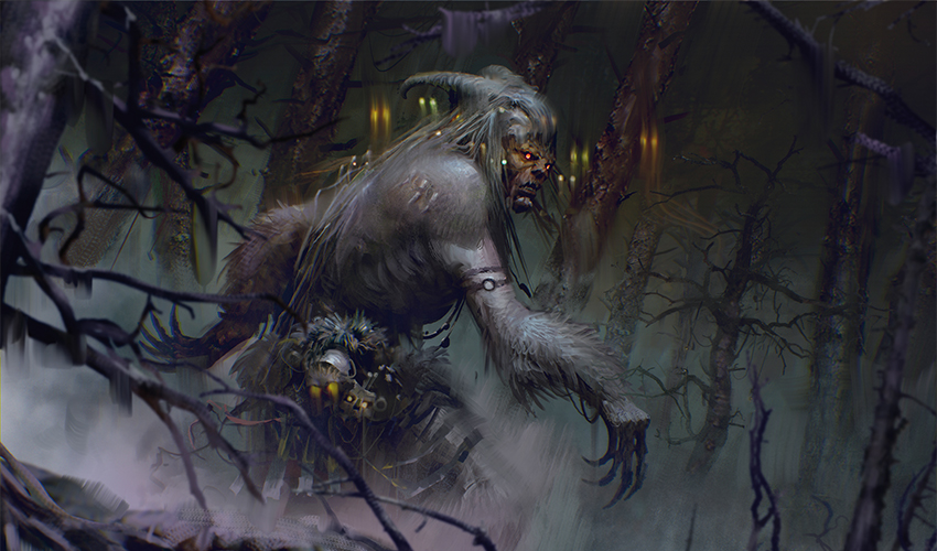 Gruul Isn't About Werewolves In Innistrad: Midnight Hunt Limited