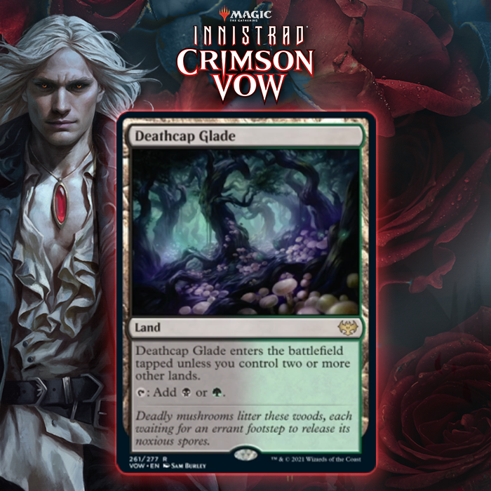 Innistrad: Crimson Vow Rare Dual Land Cycle Unveiled