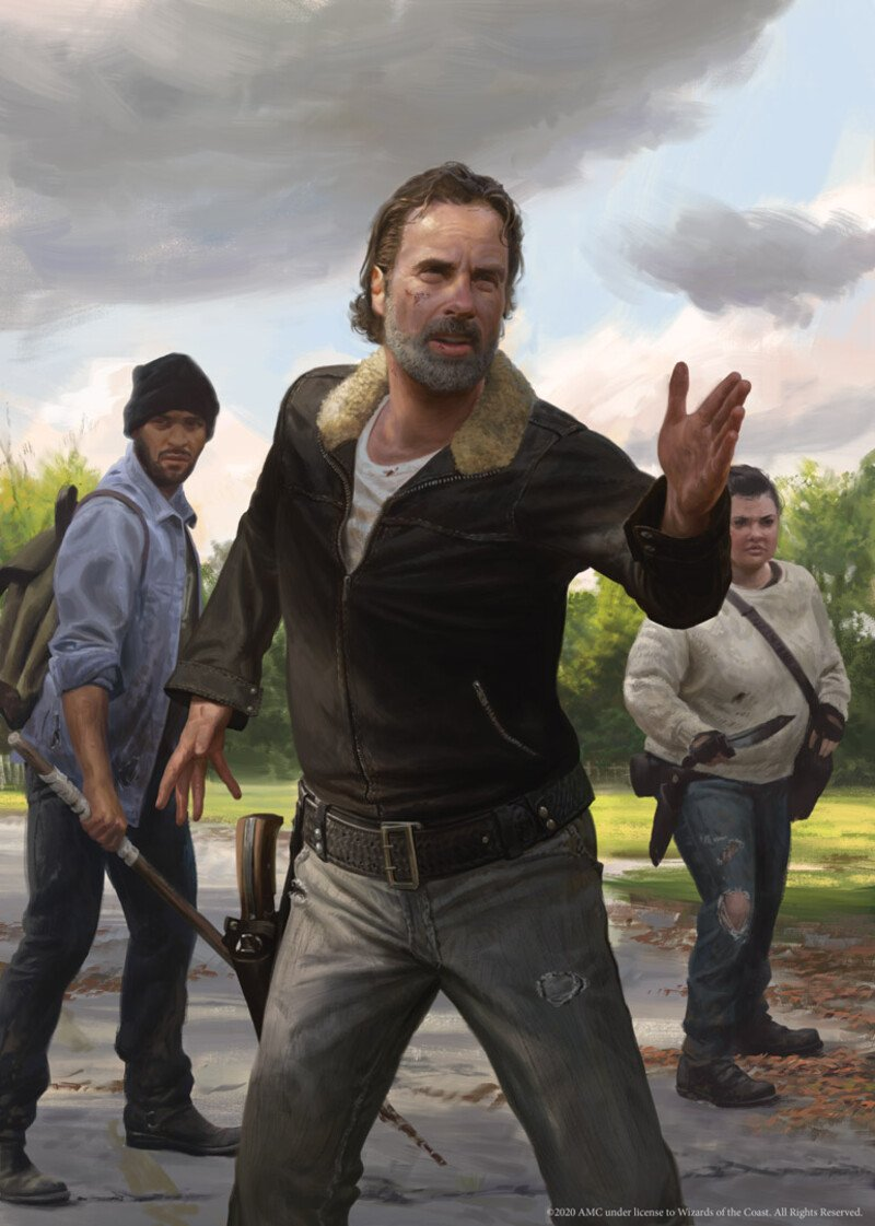 Secret Lair X Walking Dead Cards To Be Reprinted As In-Magic Versions